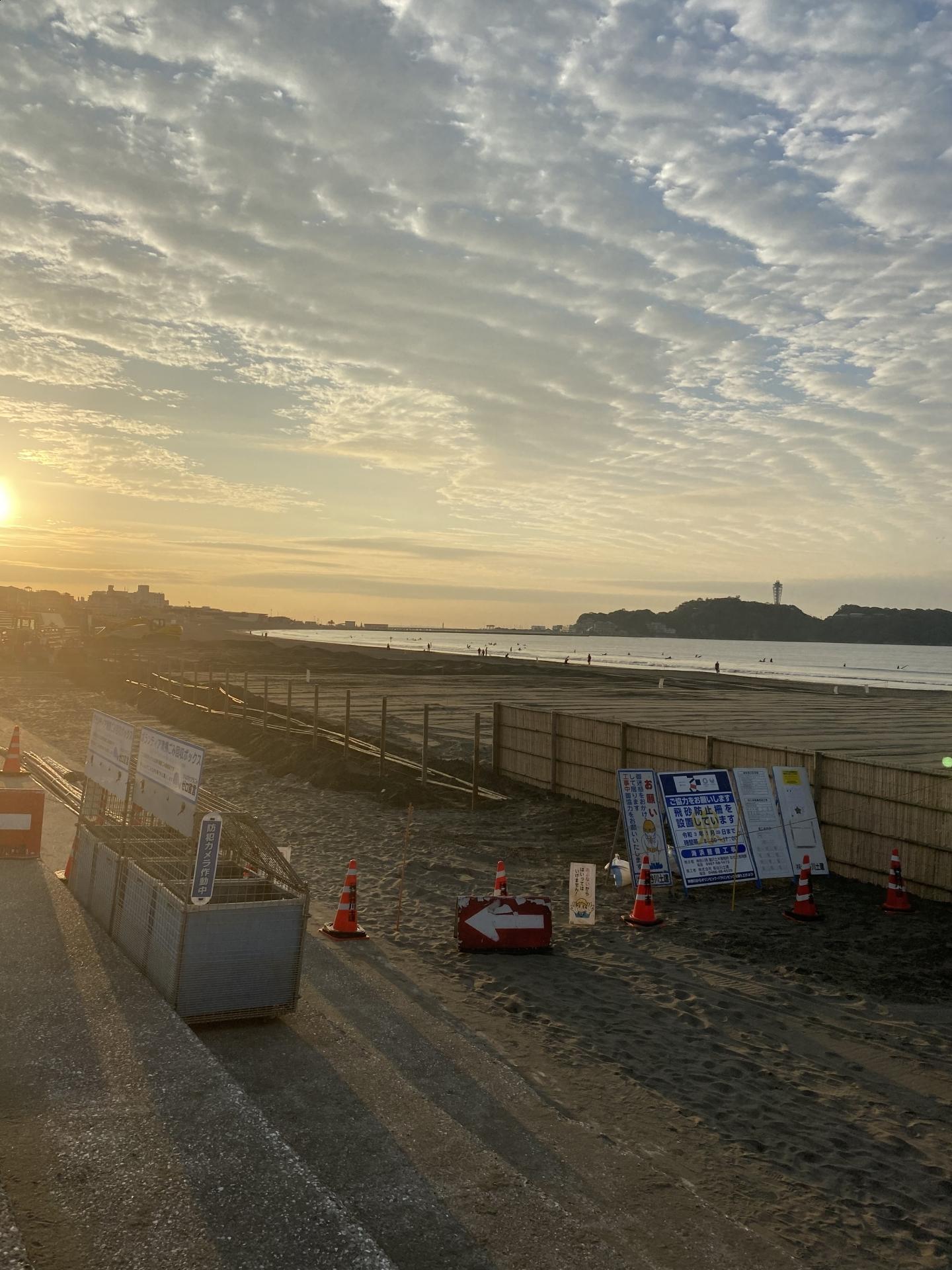【167】 江の島工事中