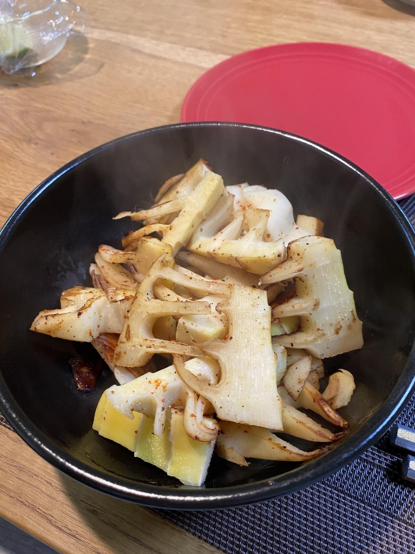 【337】 タケノコ料理